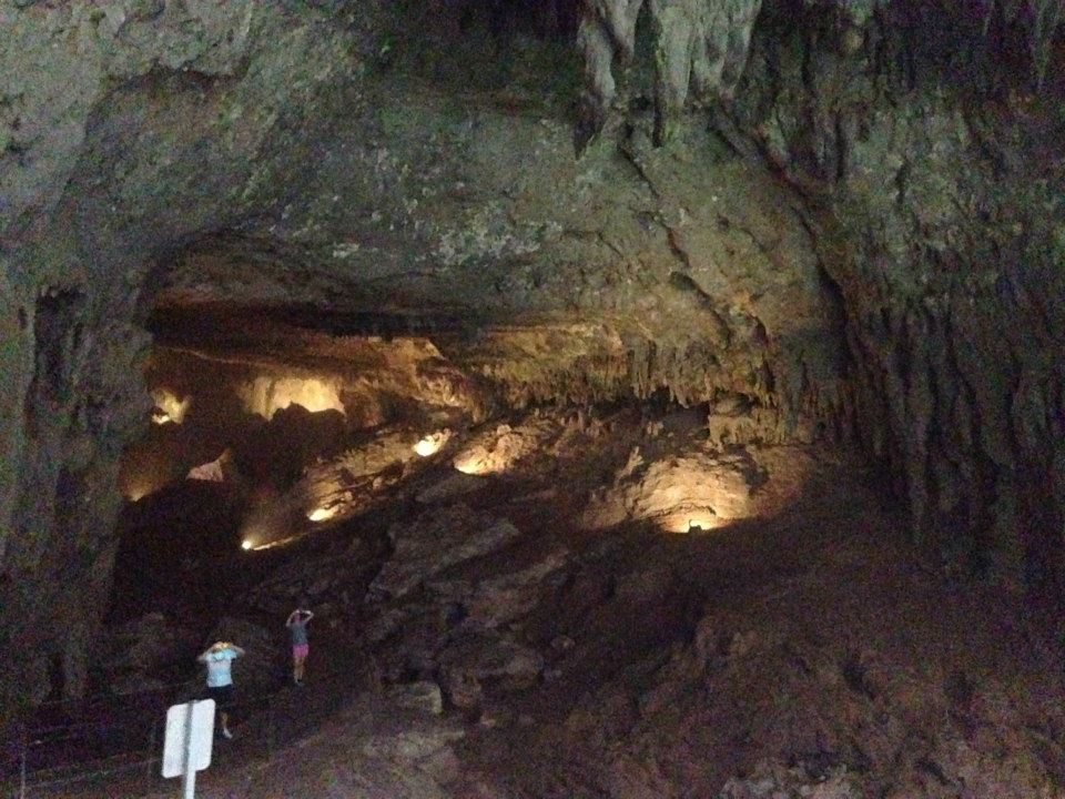 The massive cavern at Camuy